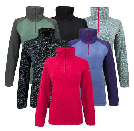 *HOT* Get a 3-Pack of Columbia Women's 1/2 Zip Fleece Pullovers for just $44 shipped!