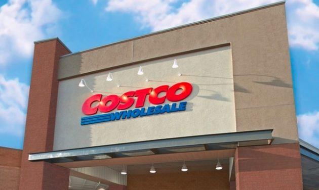 Costco Warehouse Store Front