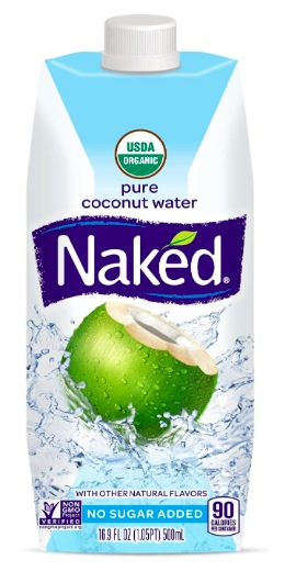 Get Naked Juice 100% Organic Pure Coconut Water (12 pack) for just $15.11 shipped!