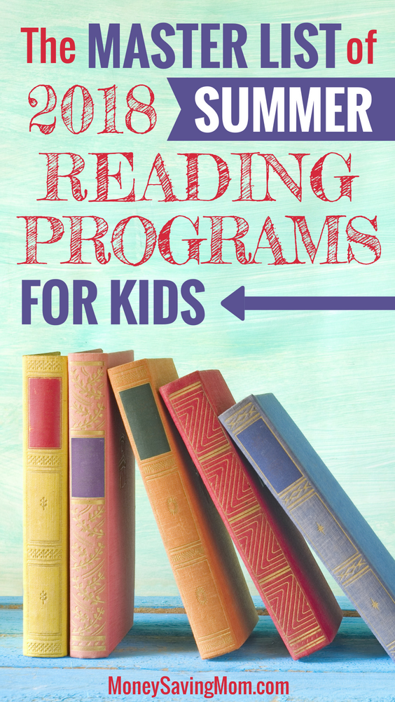 Looking for 2018 Summer Reading Programs for kids? Check out this master list of 11 FREE national summer reading programs!