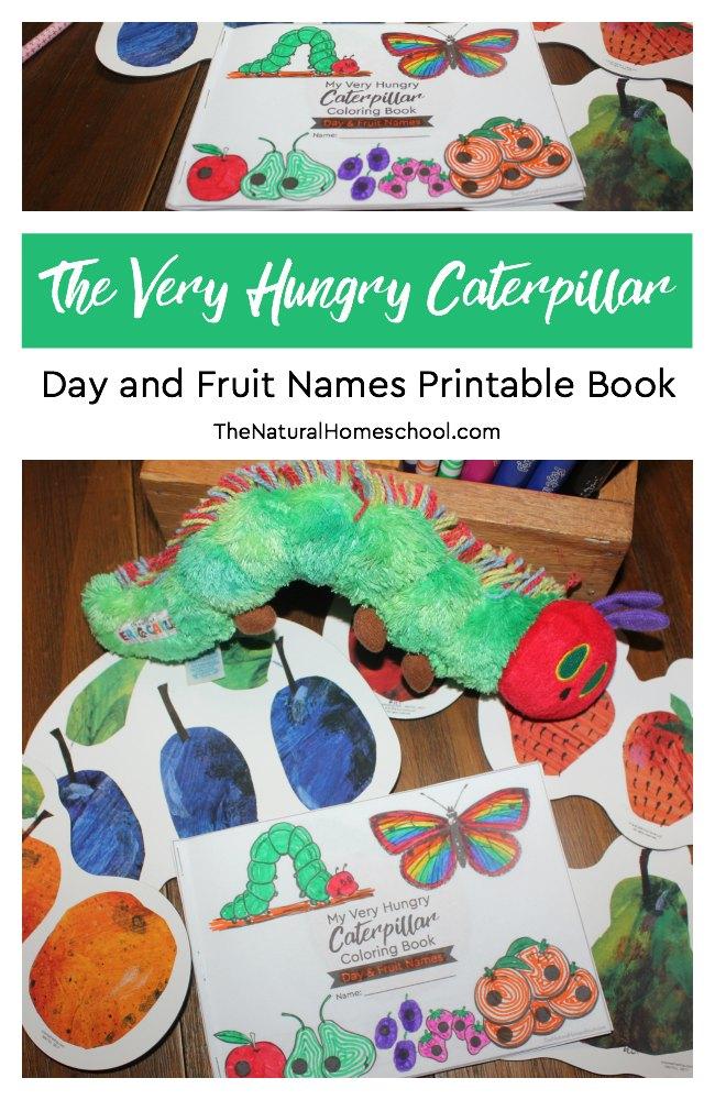 Free Very Hungry Caterpillar Printable Coloring Book Money Saving Mom® :  Money Saving Mom®