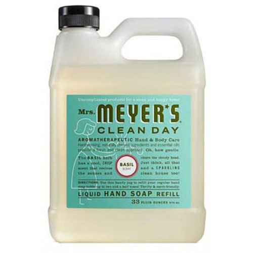 Mrs. Meyer's Liquid Hand Soap Refill (33 oz) only $4.50 shipped!