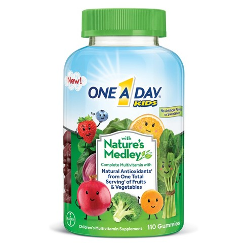 Free One-A Day Nature's Medley Gummy Vitamins at CVS!