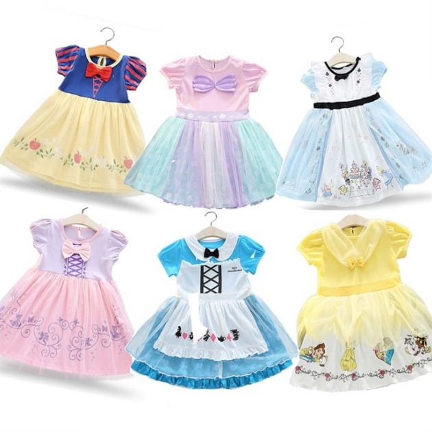 Soft Princess Play Dresses only $16.99 + shipping!