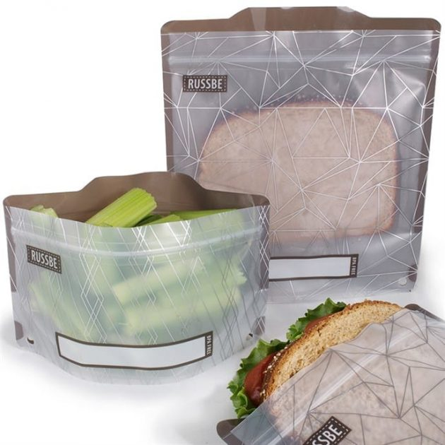 Reusable Snack & Sandwich Bags (Set of 4) only $5.99 + shipping!