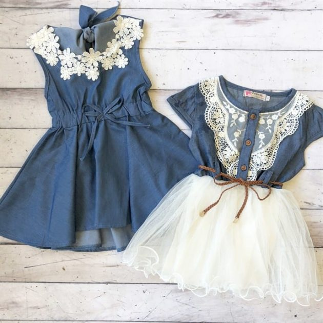Get Denim Dresses for Girls for only $13.99 + shipping!