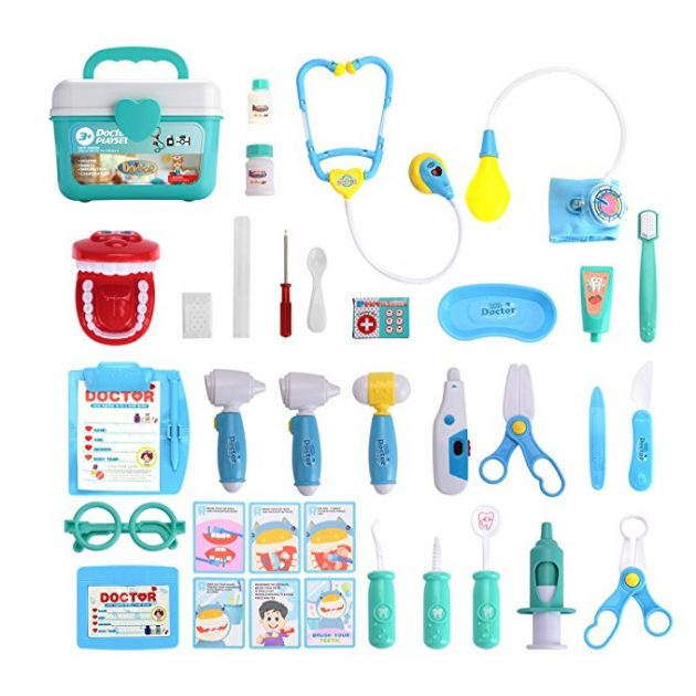 31 Piece Pretend-n-Play Medical Kit only $14.29!