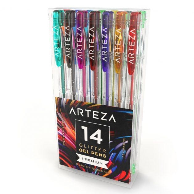 Arteza Glitter Gel Pens (Set of 14) only $5.94!