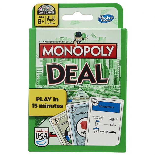 Monopoly Deal Card Game only $3.49!