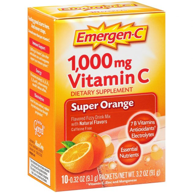 Emergen-C Drink Mix only $0.47 at Walmart!