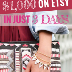 Want to make an income on Etsy? Read this for encouragement!