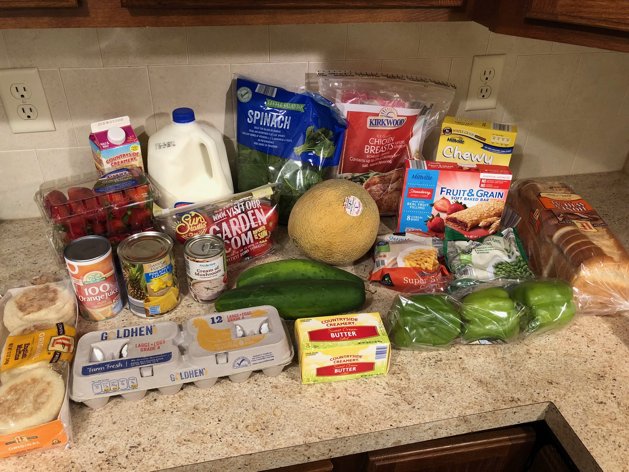 Gretchen's $51 Grocery Shopping Trip and Weekly Menu Plan - Money