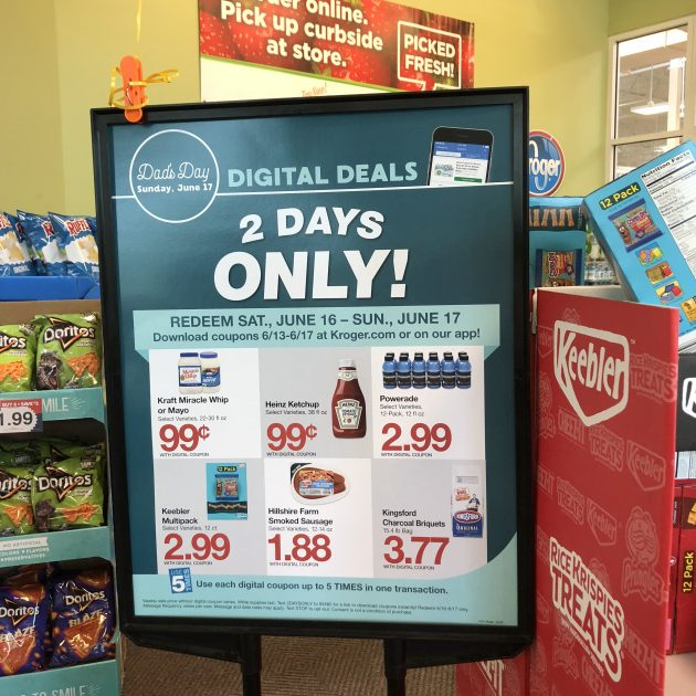 No deals money saving mom kroger had some more weekend deals that were worth picking up this past saturday psst if you loaded the ketchup or mayo coupons onto your card fandeluxe Gallery