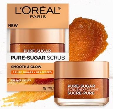 Free L'Oreal Pure-Sugar Scrub Sample