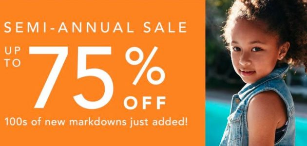 Gymboree: Up to 75% off Clearance + Free Shipping!