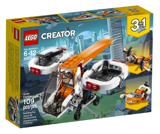 LEGO Creator 3in1 Drone Explorer Building Kit only $7.99!