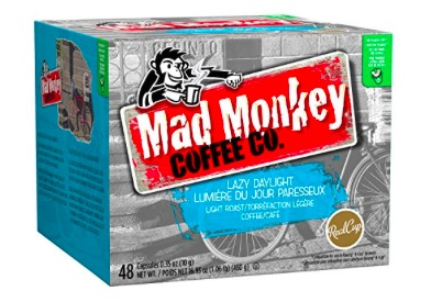 Mad Monkey Coffee K-Cups (48 count) only $14.29 shipped!