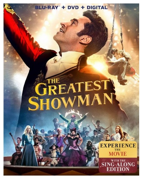 The Greatest Showman Blu-ray + DVD Combo only $10.99!
