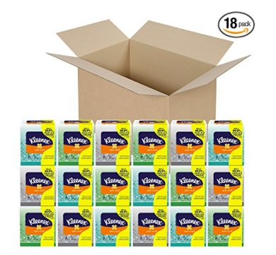 Kleenex Anti-Viral Facial Tissues (18 pack) only $23.03 shipped!