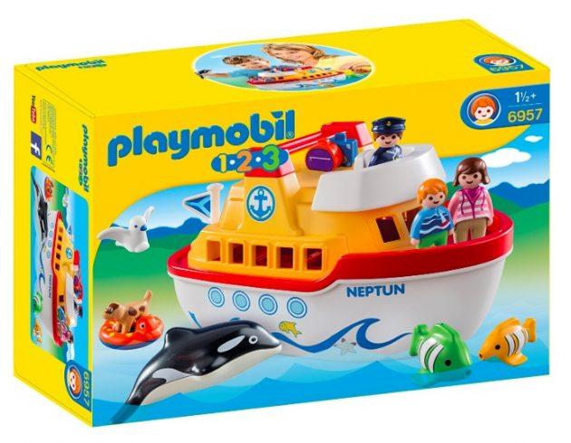 Playmobil 1.2.3 My Take Along Ship only $12.99!