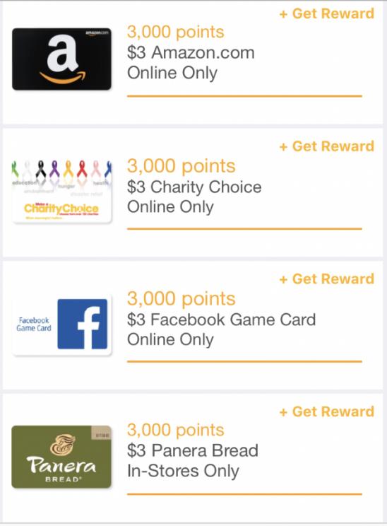 Fetch Rewards Gift Cards