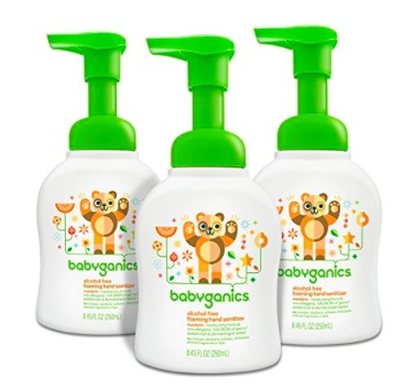 30% off select Babyganics items = GREAT prices on hand sanitizer, laundry detergent, dish soap, and more!