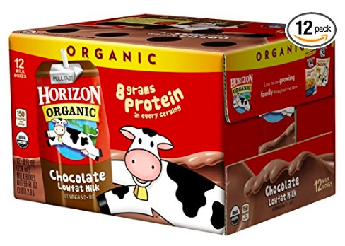 Horizon Organic Chocolate Milk Boxes (12 pack) only $11.38 shipped!