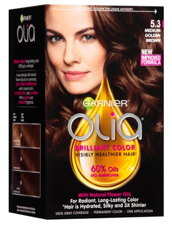 New $5/2 Garnier Olia Hair Color Printable Coupon = Only $2.66 at Target!
