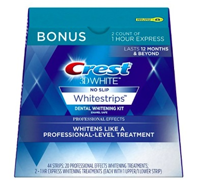 Crest 3D White Professional Effects Whitening Strips Kit only $28.99 shipped!