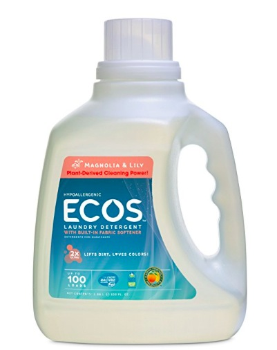 Earth Friendly ECOS 2x Liquid Laundry Detergent, 100 oz (Pack of 2) only $9.98!