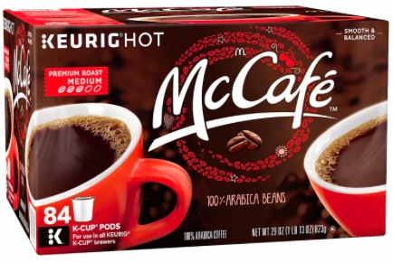 McCafe K-Cups only $3.74 at Walgreens!