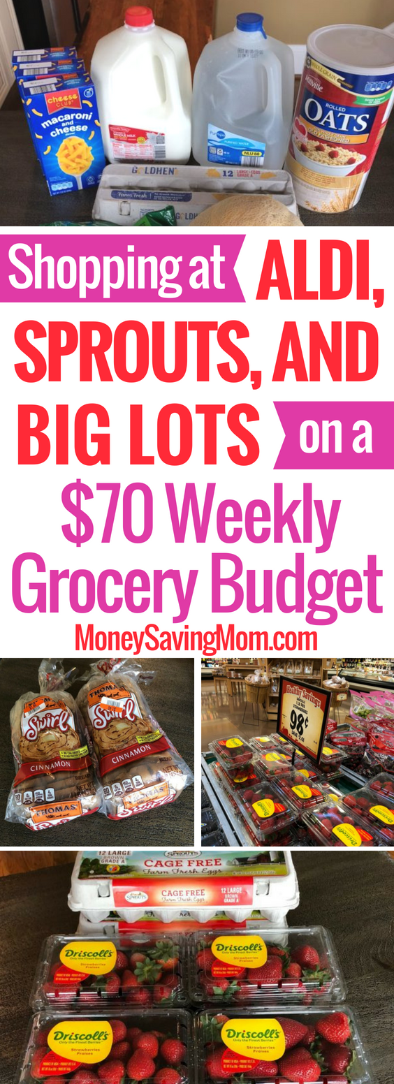 Shopping at Sprouts on a $70 weekly grocery budget?! I never knew Sprouts had such GREAT deals!!