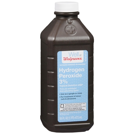 Free Hydrogen Peroxide Bottles at Walgreens!