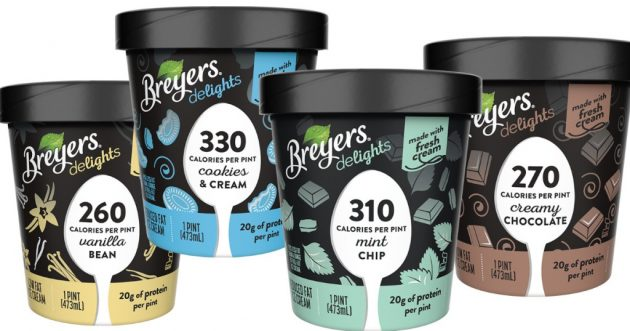 image about Breyers Ice Cream Coupons Printable named Refreshing Breyers Ice Product Coupon \u003d Breyers Delights for $1.75 at