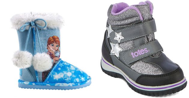 80% off Toddler Winter Boots including Disney, Totes and Okie Dokie!