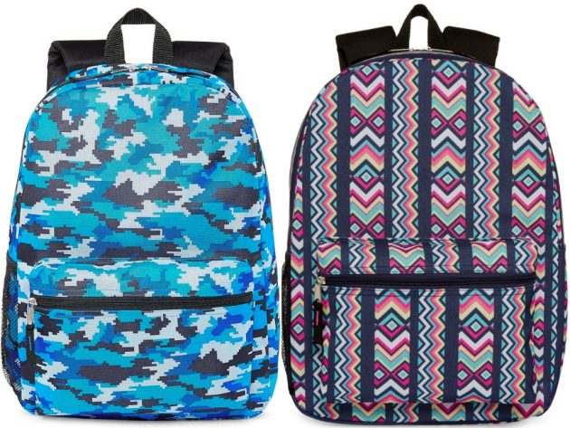 City Streets Backpacks only $4.50 each!