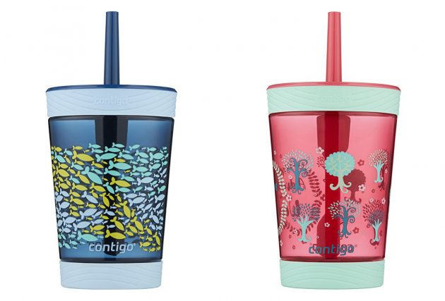 Contigo Spill-Proof Kids Tritan Straw Tumbler only $6.79!
