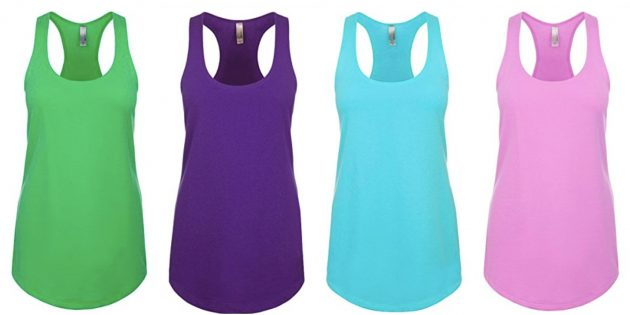 Next Level Women's Tank Top under $5!