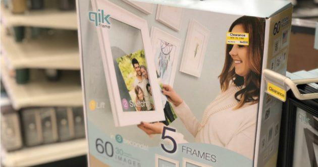 Qik Frames 5-Piece Set possibly only $20.98 at Target!