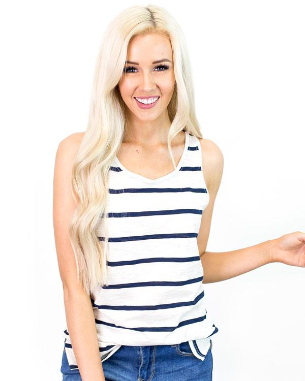 57f8f8e7acd Get this Brinlee Classic Stripe Tank for only  4.97 shipped!
