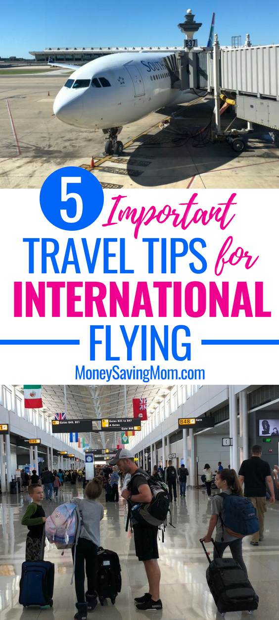 These international flying tips are invaluable! Read this before you take your next trip!