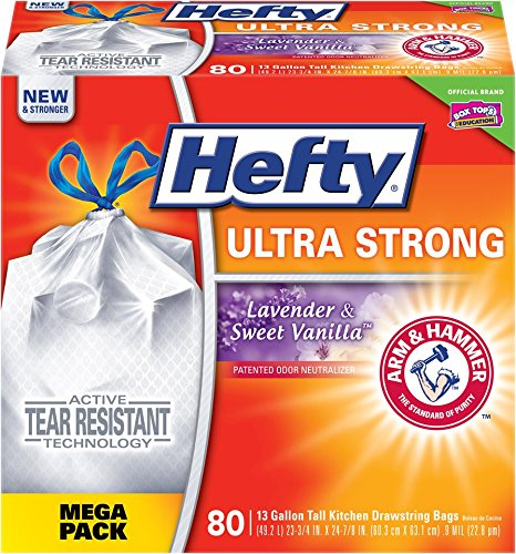 Hefty Ultra Strong Trash Bags (80 count) only $8.65 shipped!