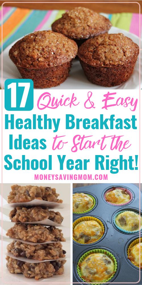 Back to School Breakfast Recipes for Kids