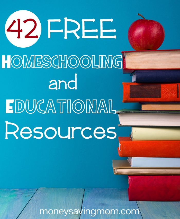 HUGE List of FREE Homeschool Curriculum & Resources (42 freebies