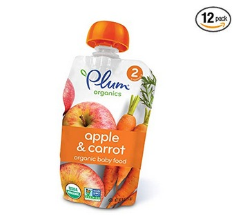 Plum Organics Stage 2, Apple and Carrot (12 pack) only $9.07 shipped!