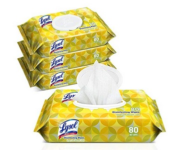 Lysol Handi-Pack Disinfecting Wipes, 320ct only $10.07!