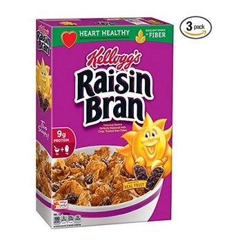 Kellogg's Raisin Bran Cereal (3 pack) only $5.25 shipped!