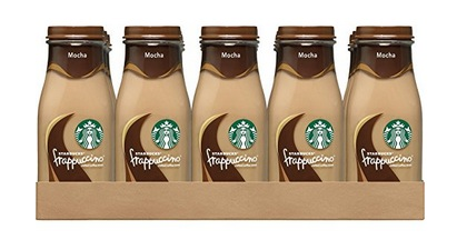 Starbucks Frappuccino Drinks, Mocha Flavor (15 bottles) only $16.57!