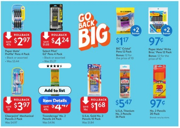 81369059b34c Here are the best back to school deals at Walmart for the week of July 29