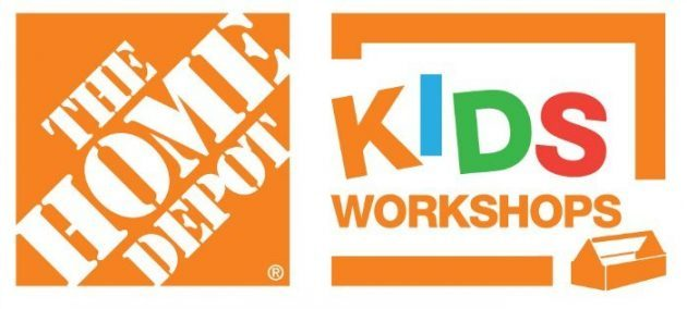 Free Home Depot Kids Workshops